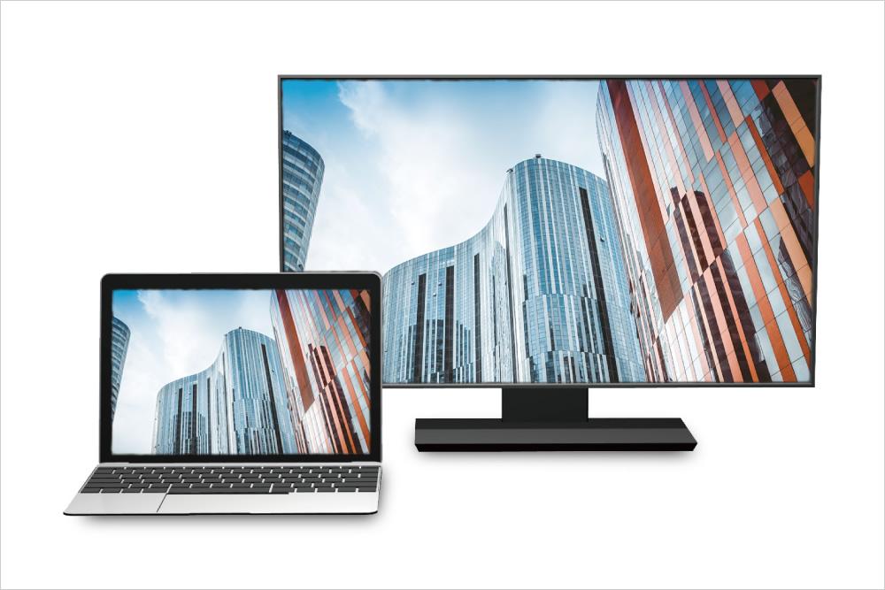 スマートフォンやタブレットの画面をテレビやモニターに映せるアダプタやケーブル