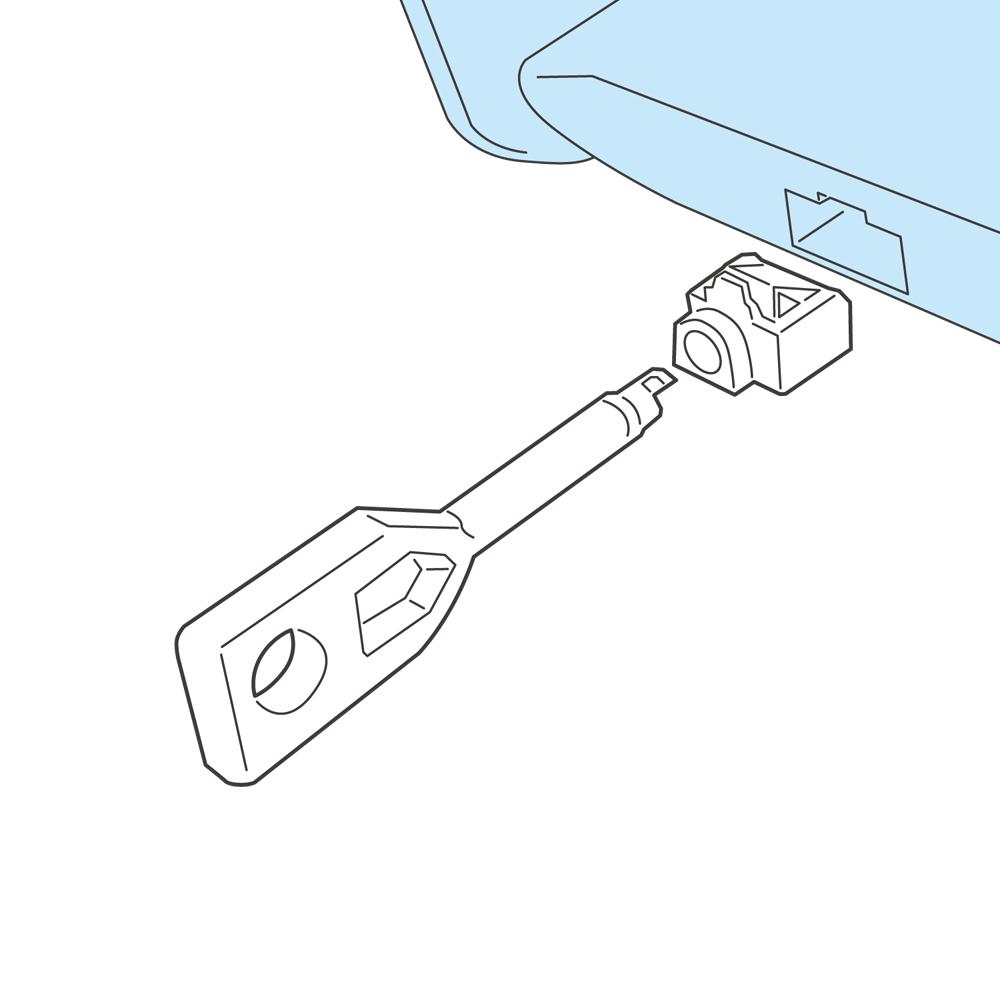 LANポート用 セキュリティロック [CAT-LK/PT]