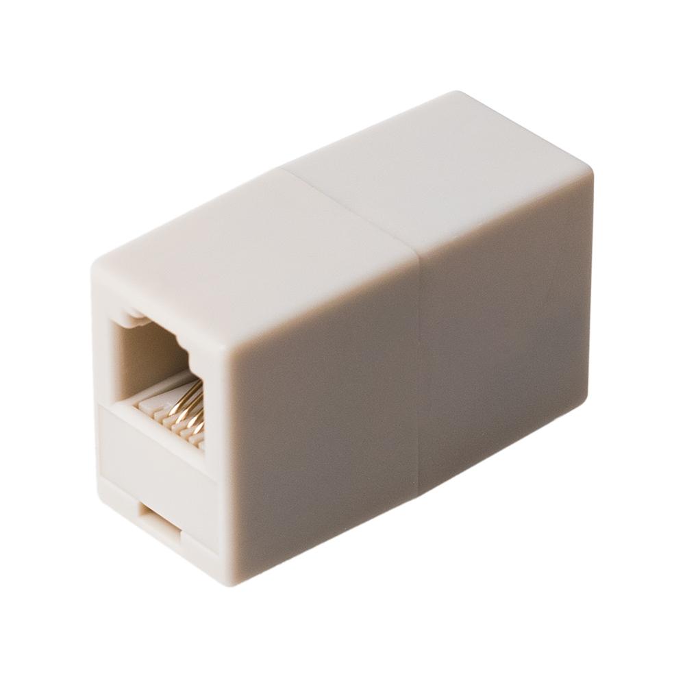6極4芯対応 電話機コード延長アダプタ [DA-40]