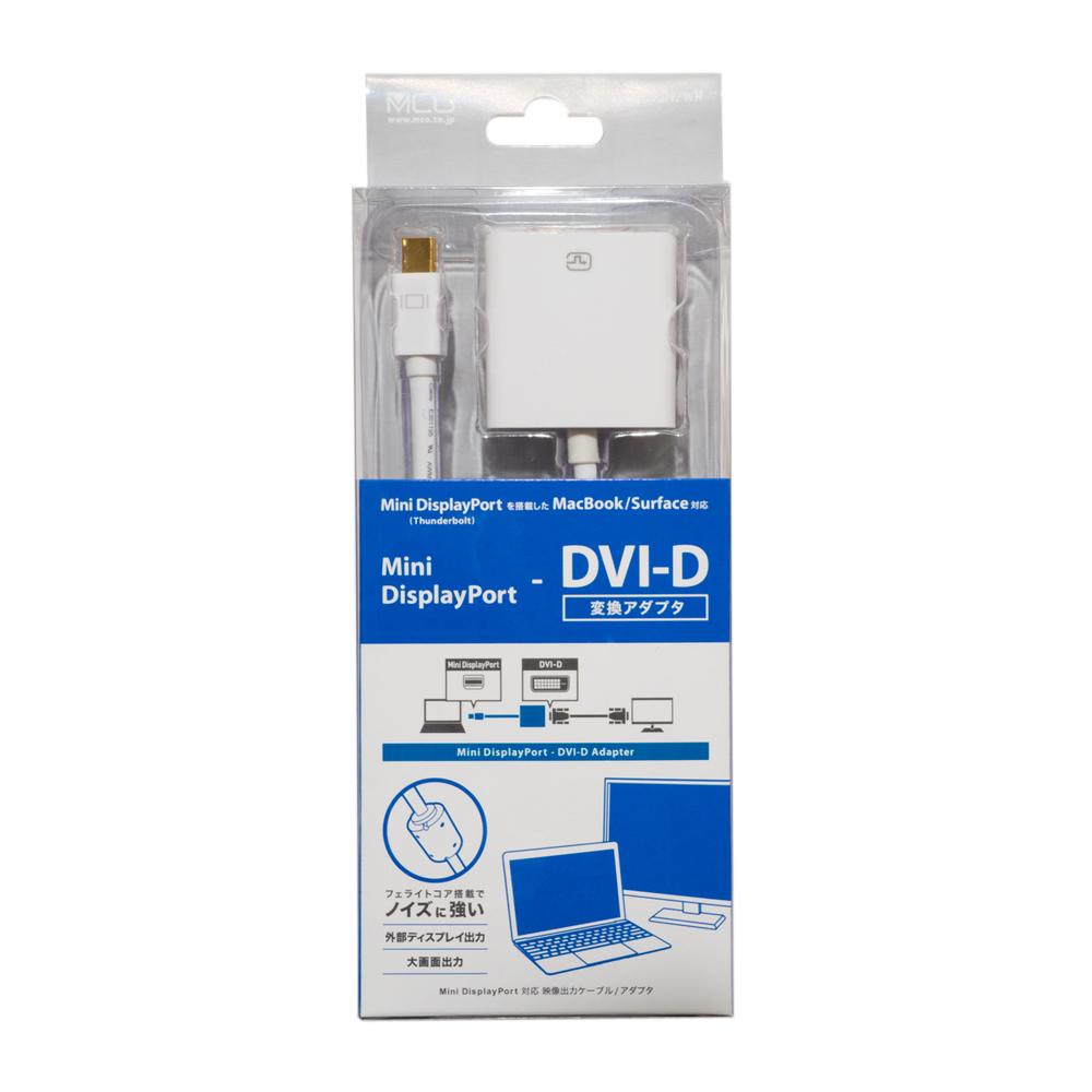 FullHD対応 miniDisplayPort – DVI-D アダプタ [DPA-2KDV]