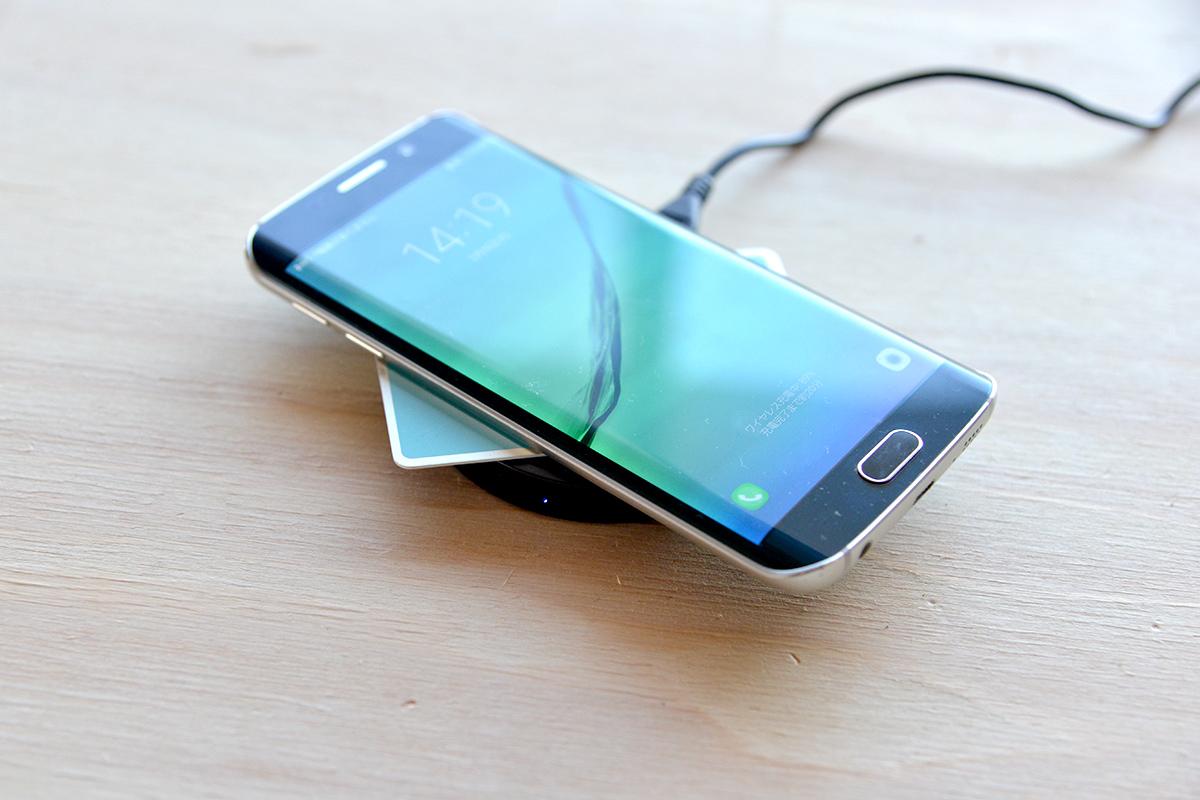 ワイヤレス充電ってICカードやポイントカードがあっても使えるの?