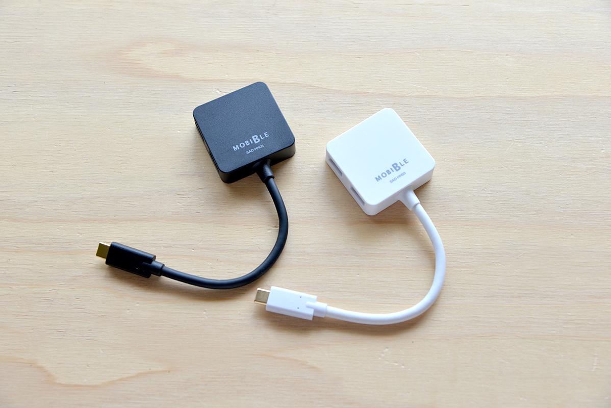 USB Type-C(USB-C)ポートを4つのUSB3.1に拡張するホストアダプタ