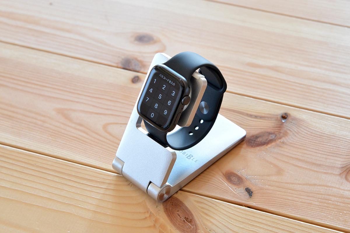 Series6、SEにも対応した折りたためるApple Watch用スタンド