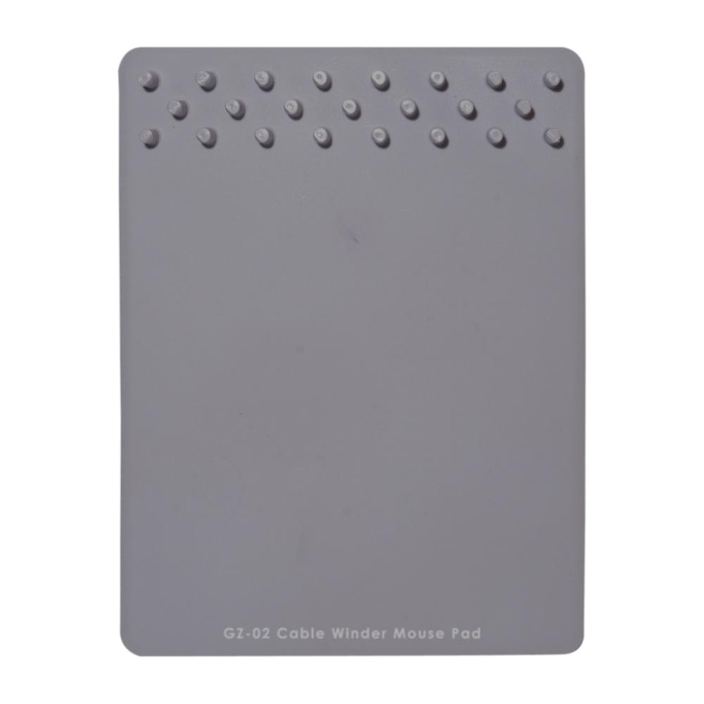 ケーブルワインダー付 マウスパッド [GZ-02]