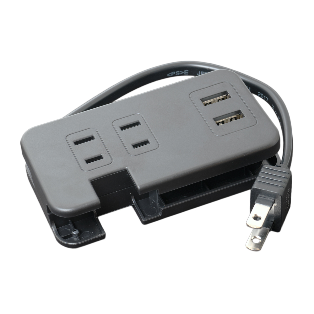 モバイルUSB-ACタップ(USB-Aポート・ACコンセント付) [IPA-24AC2]