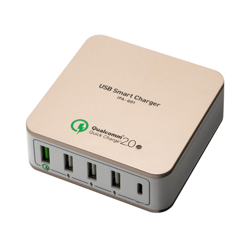 高出力対応USB-ACアダプタ 5ポートタイプ [IPA-Q01]