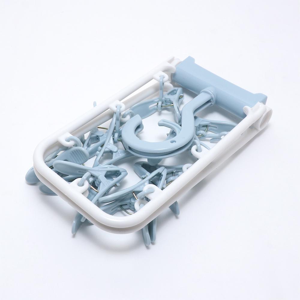 折りたためる洗濯ピンチハンガー [MBZ-HG06]