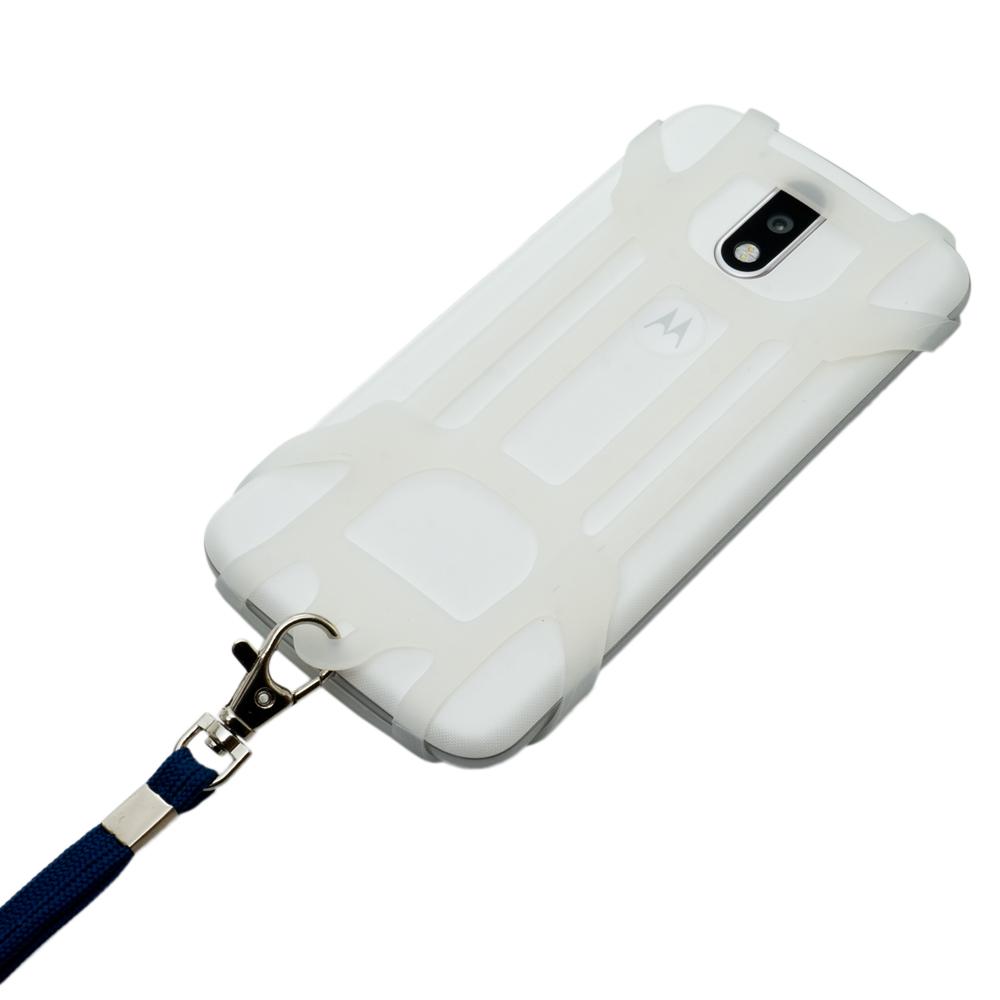 フリーサイズ スマホホルダー+ストラップ 背面中央カメラ対応タイプ [SAC-SB03]