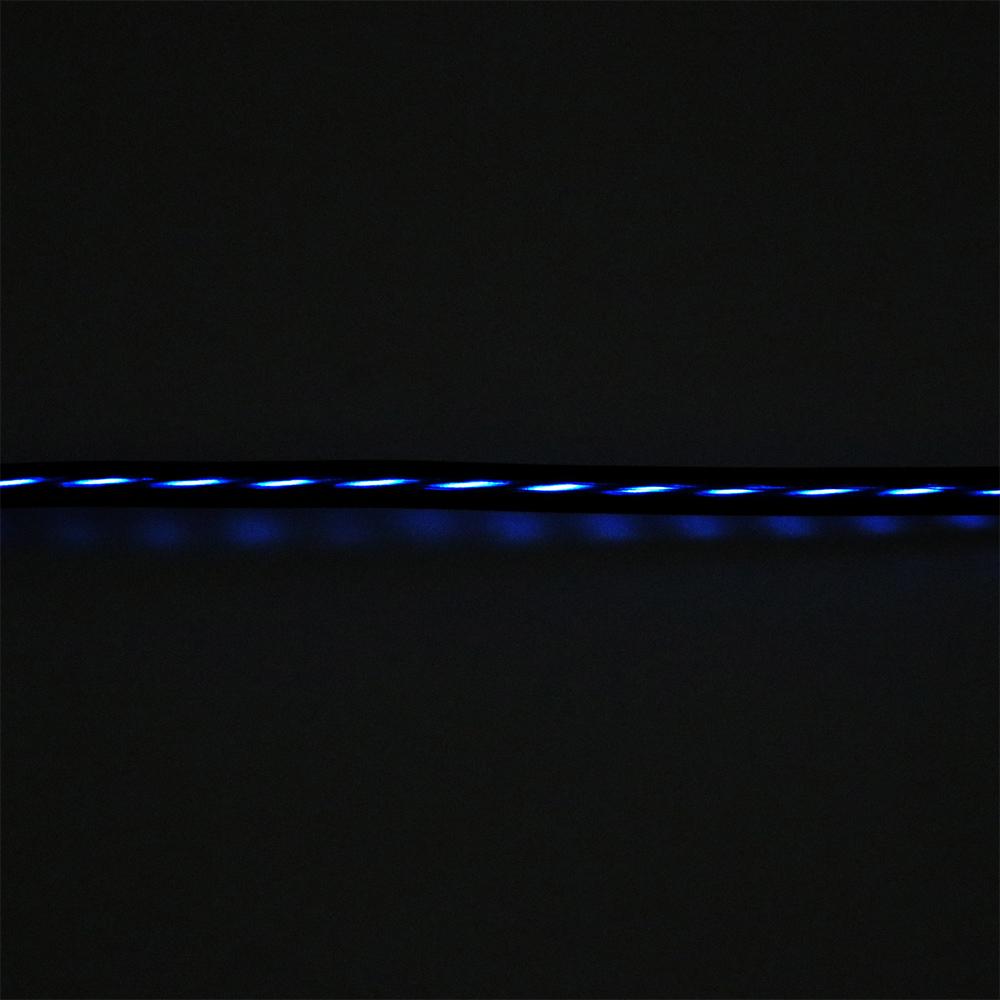 LED内蔵USBケーブル USB Type-Cコネクタ [SLE-C10]