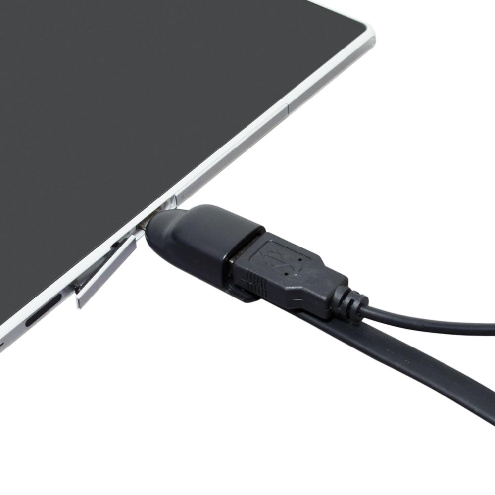 ホスト機能対応 USBmicroBケーブル [SMC-01H]