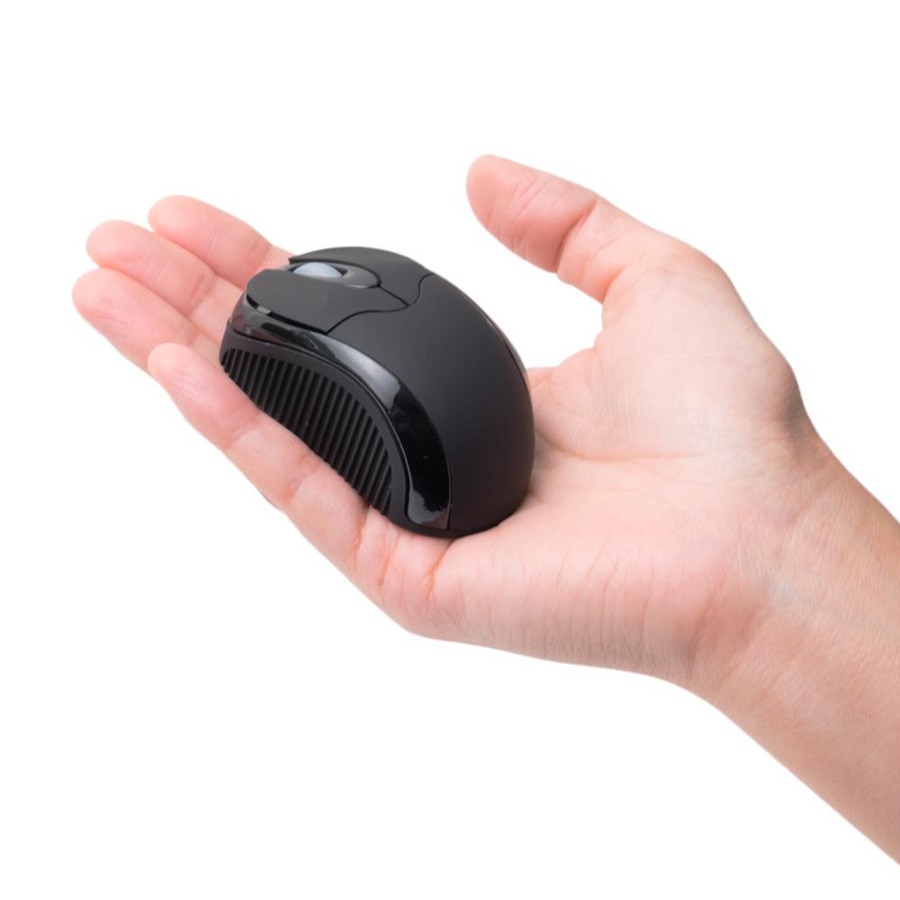 コードリールケーブル モバイルミニマウス USB A / micro B対応 [SRM-MB01]