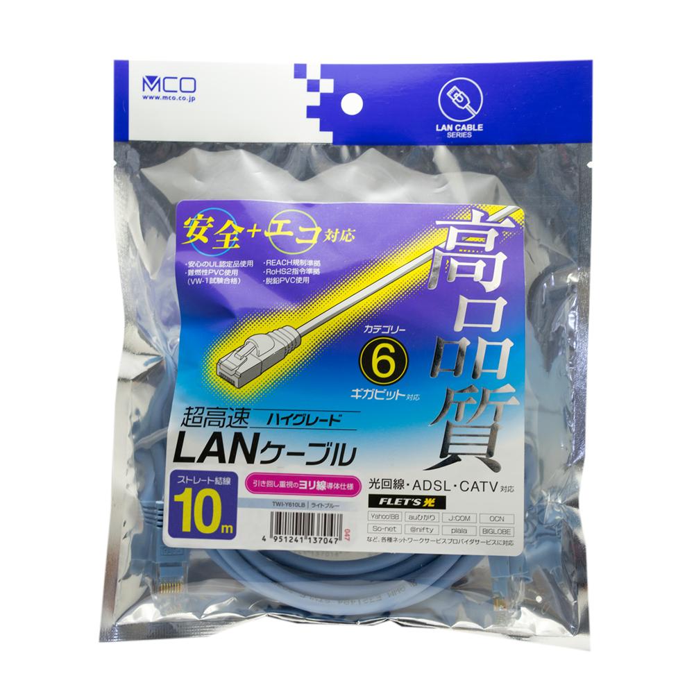高品質LANケーブル ヨリ線タイプ [TWI-Y]