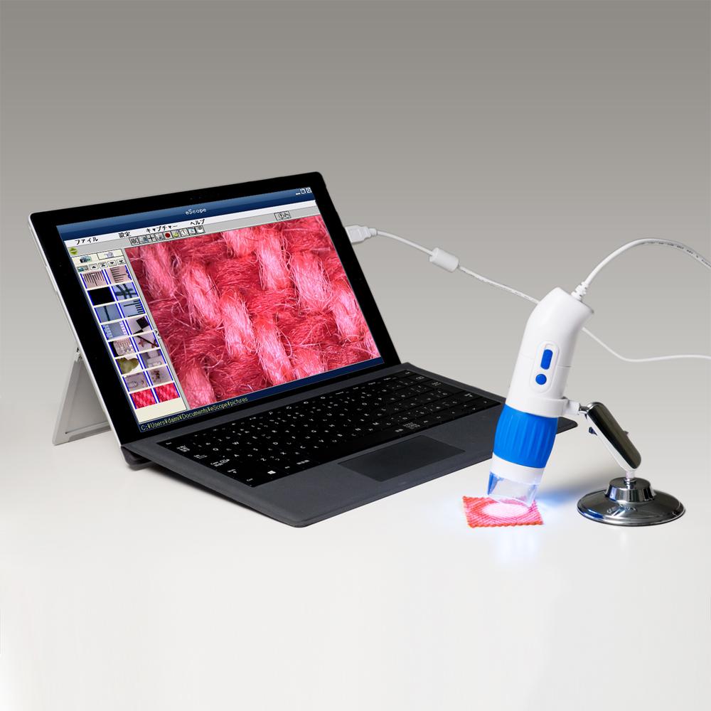 200倍対応 有線タイプ USBデジタル顕微鏡 [UK-06]
