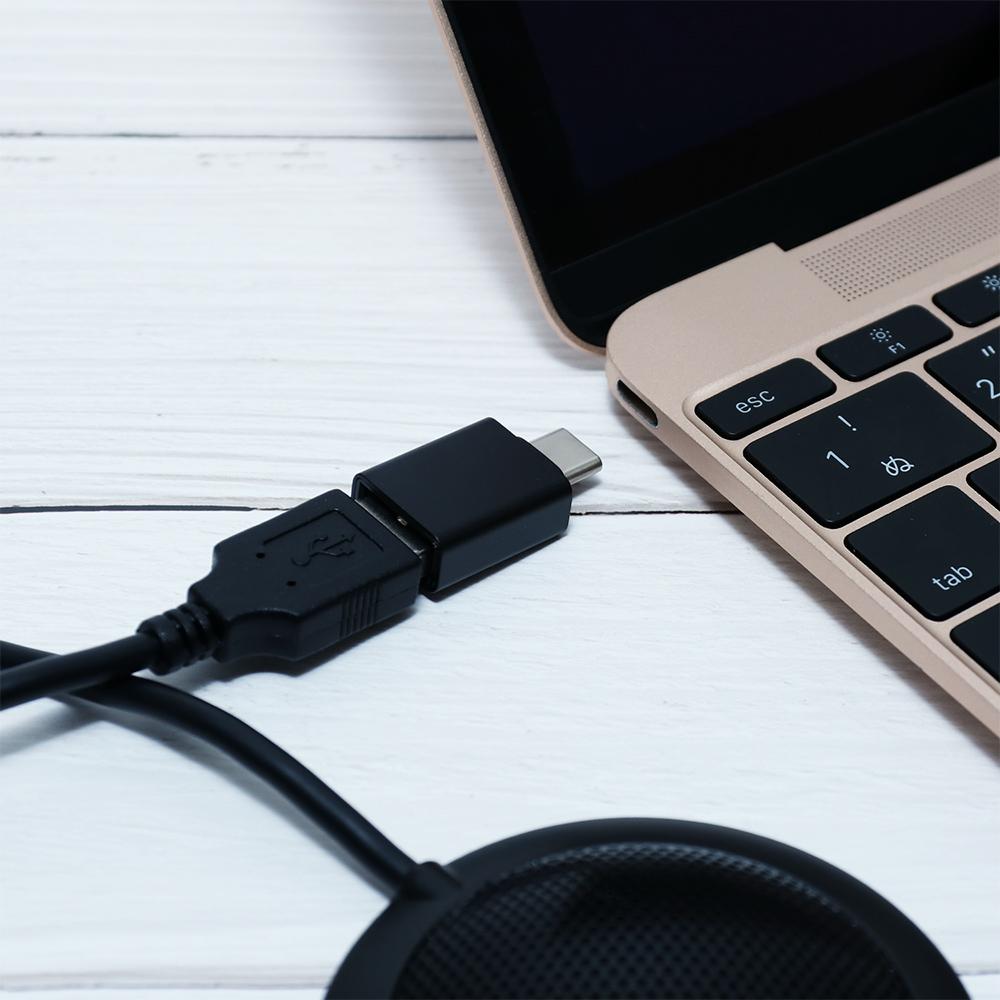 USBデジタルマイクロホン 平型無指向性タイプ [UMF-03]