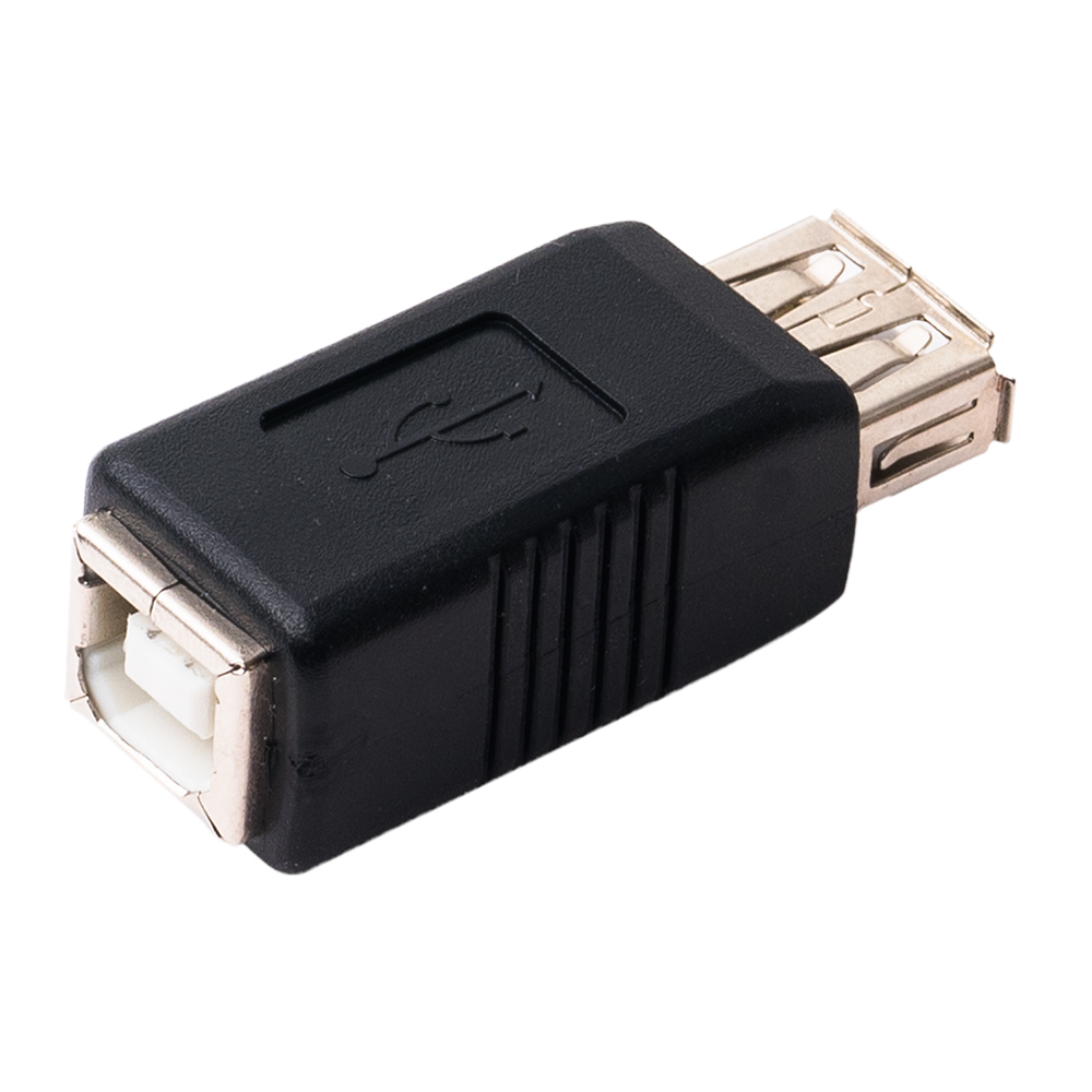 USB変換アダプタ USB B – USB A メス [USA-BA]