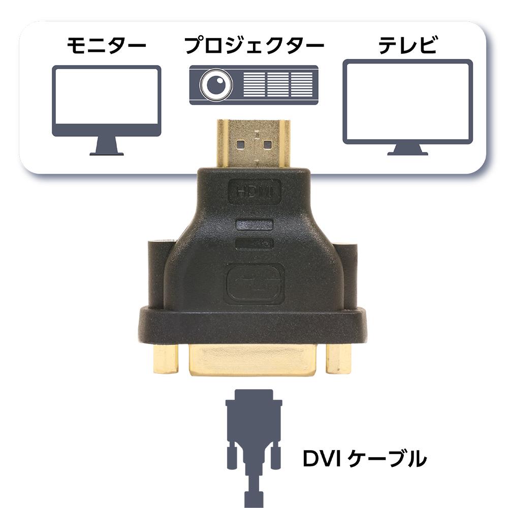 DVI-HDMI変換アダプタ [VDA-HD02]