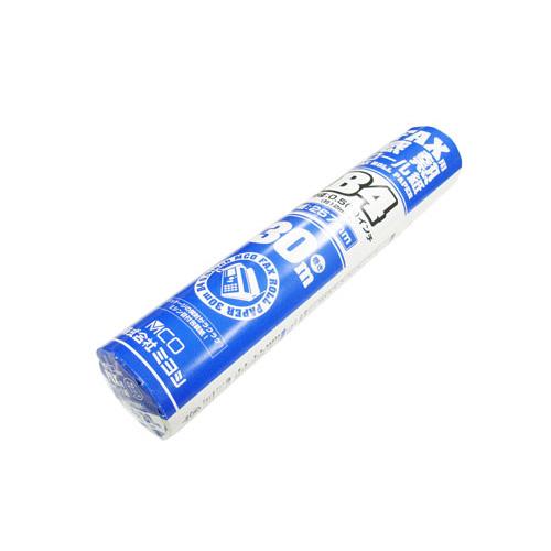 FAX B4 感熱ロール紙 0.5インチ 30m巻き [FXR30BH]