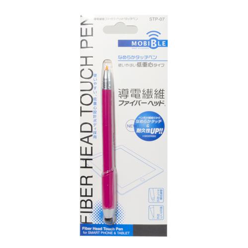 ファイバーヘッドタッチペン 低重心タイプ [STP-07]