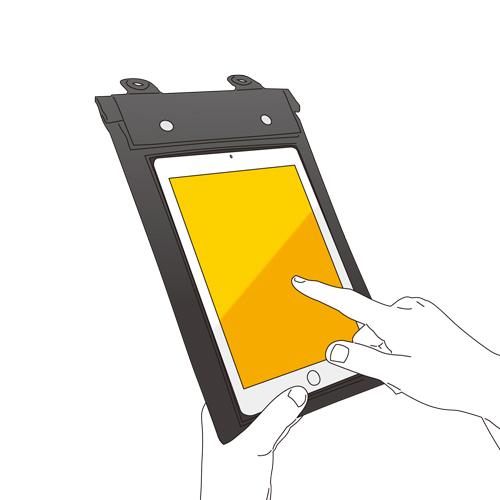 iPad mini用 防水ケース [SWP-IP02]